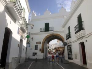 Puerta de la Villa en Conil de la Frontera.