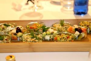 Oferta gastronómica saludable y mediterránea del chef Luis Bonastre para Iberia Express.