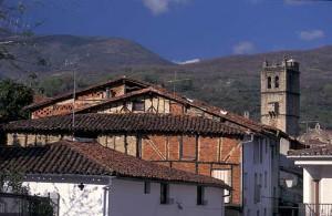 Vistas del pueblo de Jarandilla de la Vera.