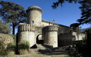 Castillo de Carlos V, ahora Parador de Jarandilla de la Vera.