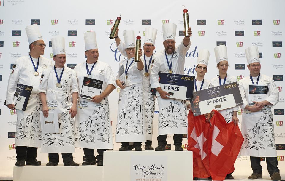 mejores pasteleros de Europa 2018 son suecos