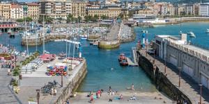 Puerto de San Sebastián.