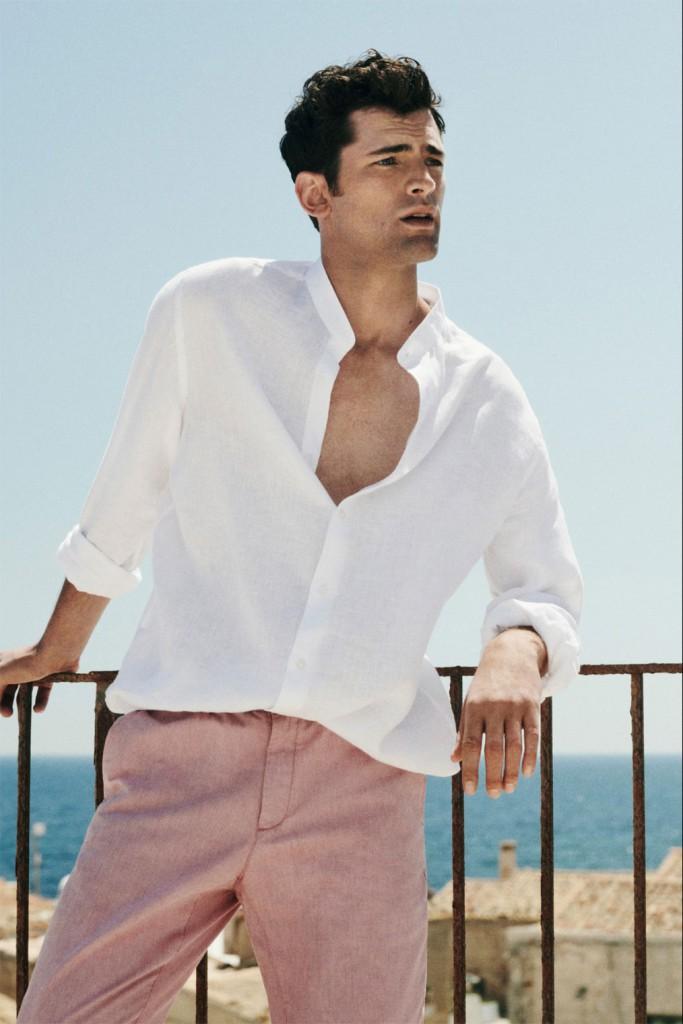 Foto: Ligereza y comodidad. Adapta las tendencias a tus días de verano sin perder un ápice de corrección. Foto: Massimo Dutti.