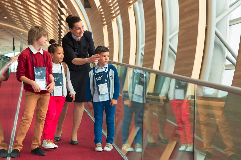Permanecerán bajo su responsabilidad y supervisión constante hasta que lleguen a su destino. Foto: Air France