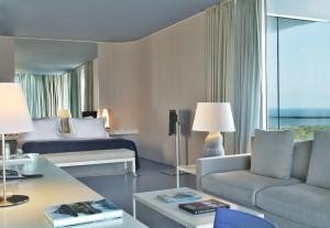 Así son las habitaciones estándar del hotel.