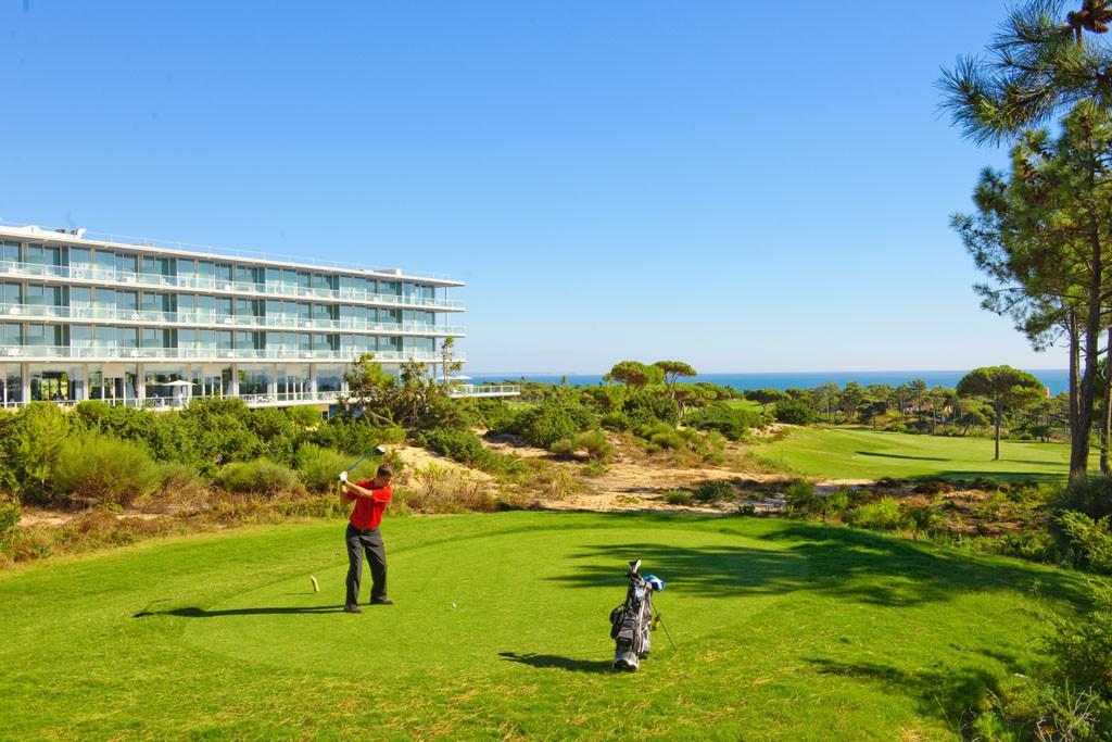 El campo de golf Oitavos Dune forma parte del Top 100 del mundo.