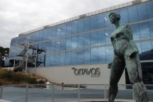Entrada al hotel The Oitavos.