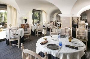 Restaurante Les Terrasses del hotel Le Mas de Guilles. Foto: Le Mas de Guilles