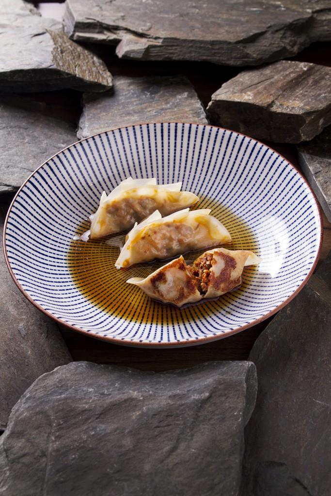 Restaurante Ikigai - Gyoza de sobrasada de Mallorca y setas shitake(1)