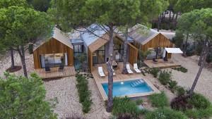 Herdade da Comporta acoge una oferta turística con casas muy singulares. En la foto: Villas de Sublime Comporta.