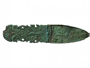 Uno de los objetos arqueológicos que transportará IAG Cargo. Foto: IAG