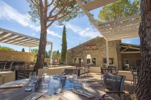 El restaurante Auberge de Carcarille actualiza cocina y ambiente provenzal. Foto: Auberge de Carcarille