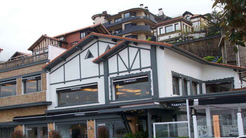 El restaurante está situado en Getxo, en primera línea de la playa de Ereaga.