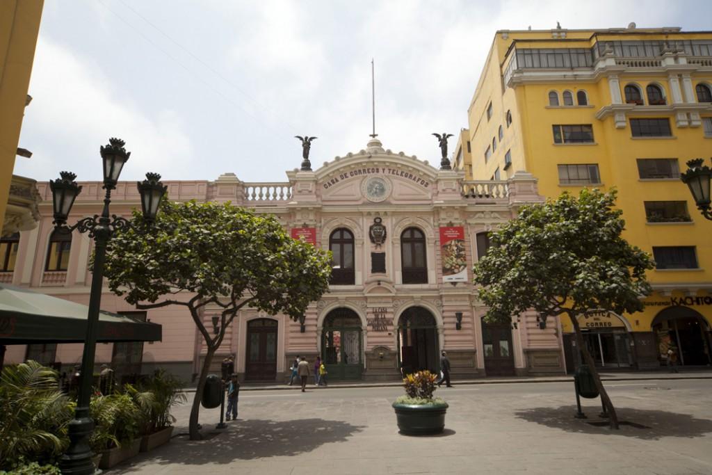 Casa de la Gastronomía Peruana. Foto: Carlos Ibarra