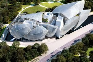 El edificio de la Fundación Louis Vuitton, obra de Frank Gehry.