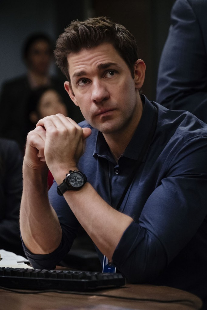 El actor John Krasinski interpreta al personaje creado por Tom Clancy, Jack Ryan.