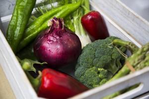 Hortalizas y verduras locales.