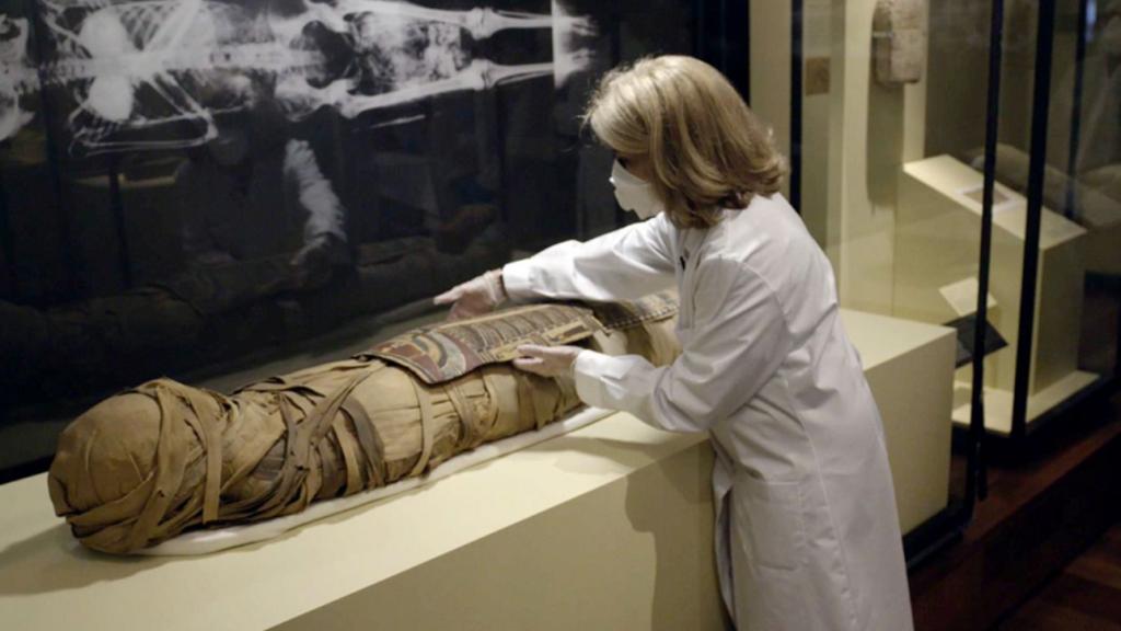 En 2016 cuatro momias del MAN fueron analizadas con un escáner de última generación.