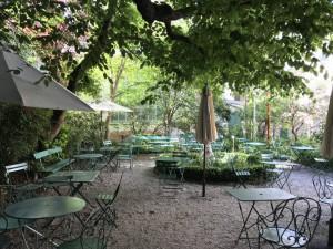 Jardines del Musée de la Vie Romantique.