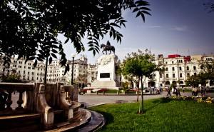 Plaza San Martín. foto:  Gihan Tubbeh