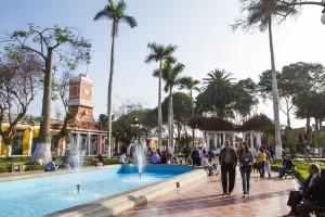 Plaza de Armas de Barranco.