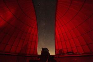 Observatorio astronómico en el valle Kibler, Virginia.