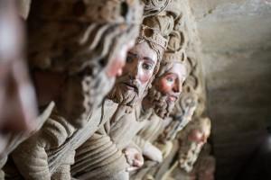 Nueva ruta a Santiago de Compostela. Foto: Pórtico de la Gloria de la Catedral (Visit Santiago de Compostela).