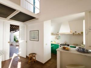 Pequeña casa de playa en Donnalucata, Sicilia.
