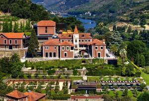 La casona solariega del siglo XIX reconvertida en el hotel Six Senses Douro Valley.