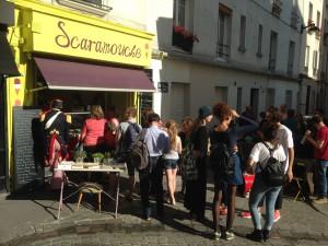Heladería Scaramouche en Montmartre.
