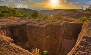 Etiopía: Lalibela con sus 11 iglesias excavadas en el suelo rocoso hacia el siglo XII.
