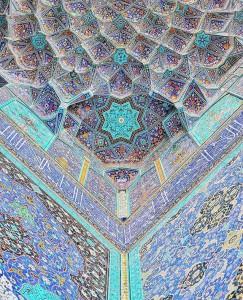 Irán: mezquita del Imam Jomeini.