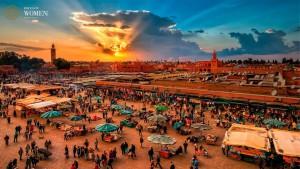 """Recorrer Tanger mediante el recorrido """"Tanger fotográfico""""."""