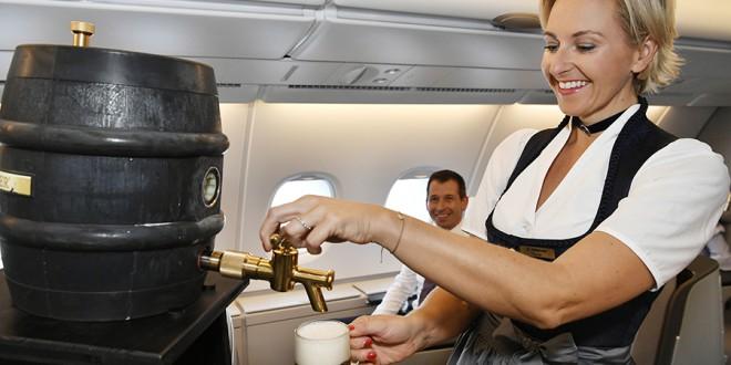 Oktoberfest en Lufthansa