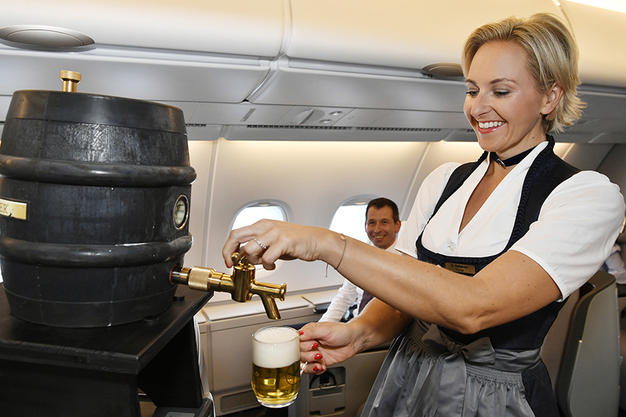 Bier an Bord