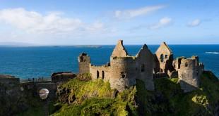 Castillo de Dunluce, Condado de Antrim.