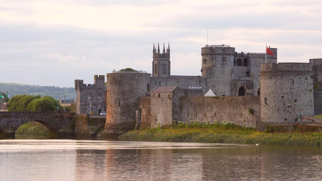 Castillo del Rey Juan en Limerick.