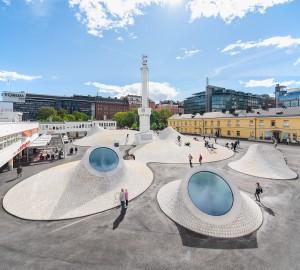 Helsinki es conocida esencialmente por la integración del diseño en la vida cotidiana de la ciudad.