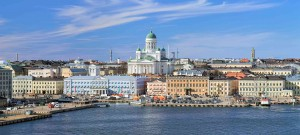 Helsinki está situado en la costa norte del Mar Báltico.