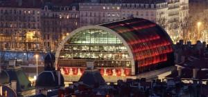 El Palacio de la Ópera de Lyon.