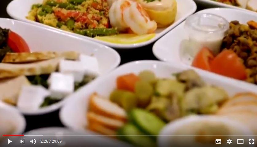 canales de cocina Emirates