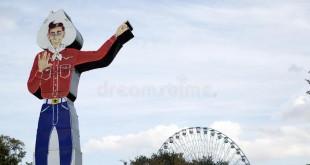 Vaquero en Dallas Fair Park.