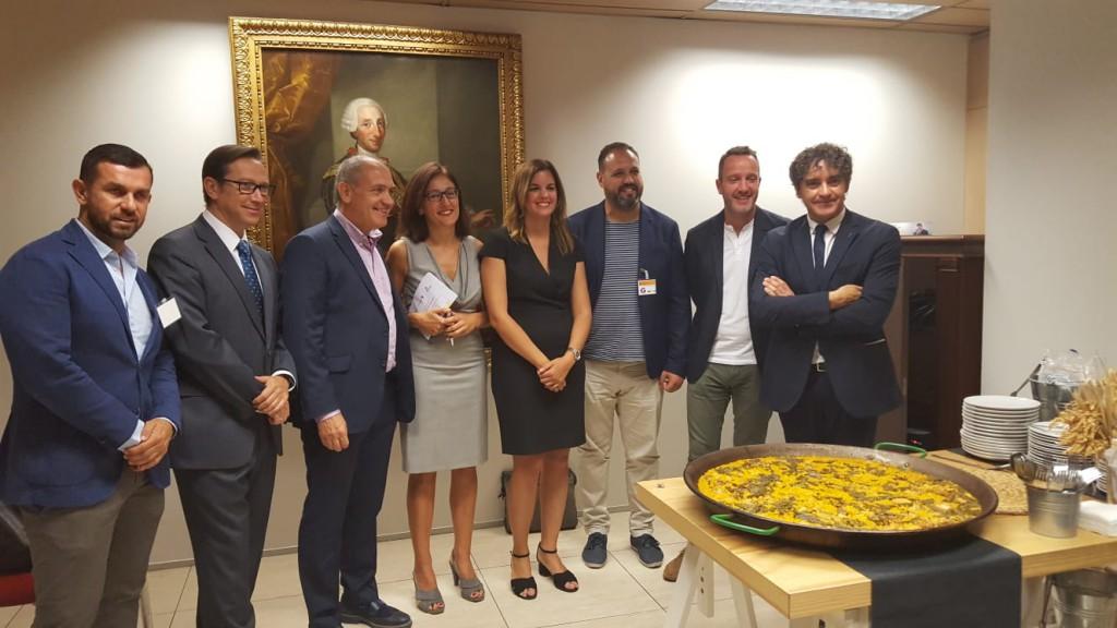 El acto de presentación del DÍA MUNDIAL DE LA PAELLA ha tenido lugar en la sede del Ministerio de Industria, Comercio y Turismo.