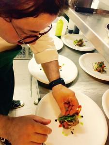El chef Adrian Quetglas
