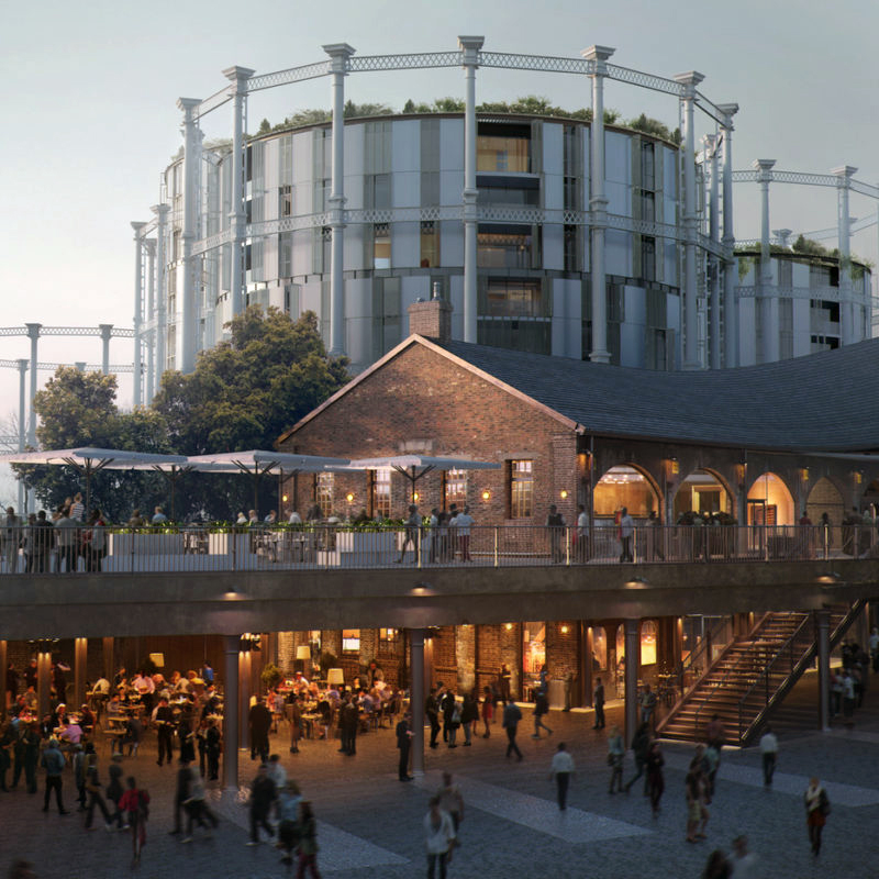 Coal Drops Yard en King's Cross.