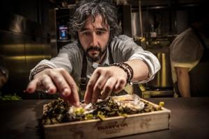 Diego Guerrero del restaurante DSTAGE participa en la edición 2018.