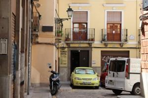En la placeta de Castillejos se hallaba el colegio de Lorca.