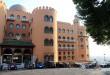 Fachada del Hotel Alhambra Palace, al que Lorca estaba tan vinculado.