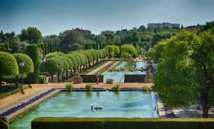 Jardines del Alcázar Córdoba en Otoño