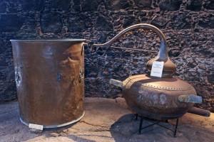 El Museo del Vino está ubicado en un lagar cubierto edificado en 1775.